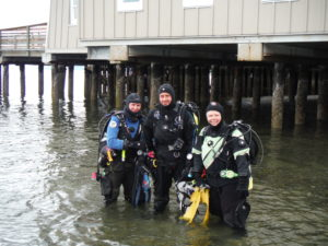 Dry Suit diving in Seattle WA